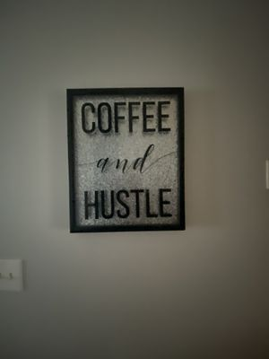Coffee and hustle picture for Sale in Cleveland, OH