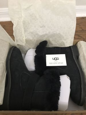 Ugg Black Boots Cedric size 8 for Sale in Orlando, FL