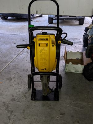 Gas Powered JACK HAMMER cement breaker for Sale in San Jose, CA