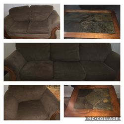 Sell This Living Room Set With 2 End for Sale in Springfield,  IL