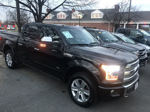 2015 Ford F-150 Platinum Tech Pkg/FX4 Off-Road Pkg, Nav with 66,774 miles for $35,587. for Sale in Fairfax, VA