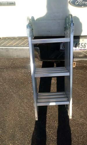 Extended ladders 28 ft. $130 2 12ft $75 each 6ft A frame $50 for Sale in Austin, TX