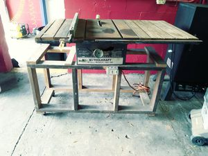 Toolkraft motorized table saw for Sale in Inverness, FL