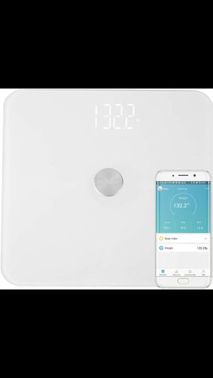 MVPower Bluetooth Body Fat Scale-Smart BMI Digital Bathroom Wireless Weight Scale with ITO Conductive Glass,Body Composition Analyzer with Smartphone for Sale in El Monte, CA