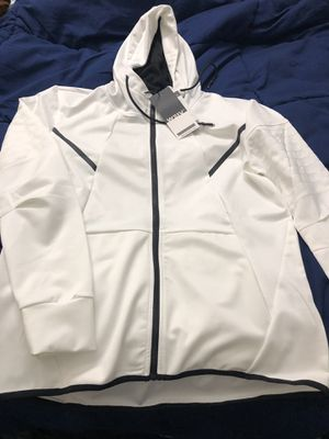 WEIV White athletic hoodie jacket for Sale in Towson, MD