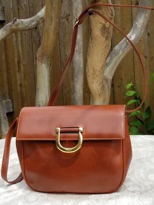Vintage Salvatore Ferragamo saddle shoulder bag for Sale in Arlington, TX