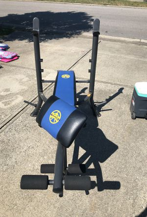 Marcy weight bench for Sale in Lexington, KY