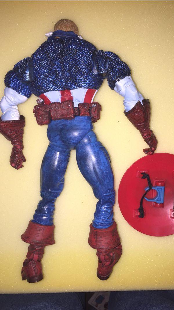 Marvel legends icon captain America 12 inch