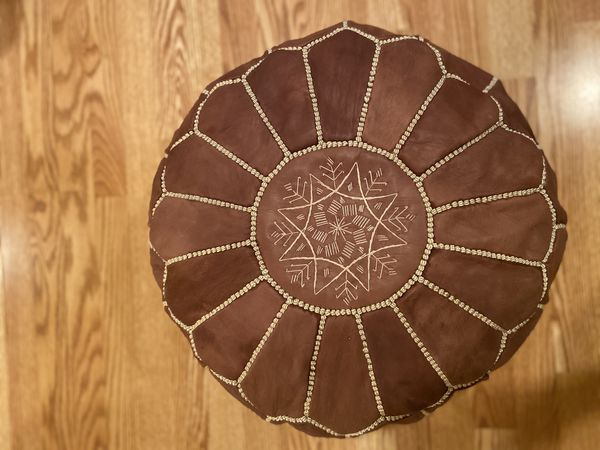 Authentic Moroccan Pouf