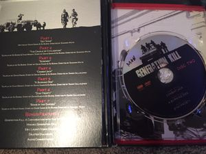 Generation Kill DVD set for Sale in Raleigh, NC