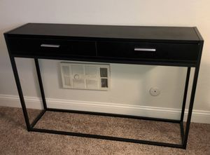 Black Console table for Sale in Oakland, CA