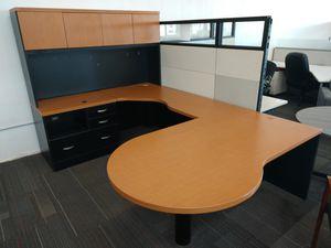 Global U shaped desks for Sale in Aurora, CO