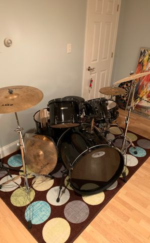 SP Drumset (Zildjian Symbol upgrade) for Sale in Framingham, MA