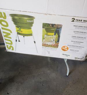 Sun Joe Leaf Shredder Pick Up ONLY for Sale in Dearborn Heights, MI