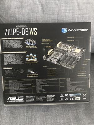 ASUS Z10PE-D8 WS - motherboard - SSI EEB - LGA2011-v3 Socket - C612 for Sale in Fort Lauderdale, FL