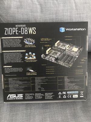 ASUS Z10PE-D8 WS - motherboard - SSI EEB - LGA2011-v3 Socket - C612 for Sale in Fort Lauderdale, FL