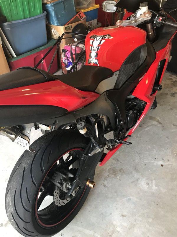 2007 zx6r 599cc Kawasaki ninja motorcycle