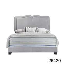 Queen Bed With Mattress Set All New In Box Cama Con Su Colchón Y Boxspring Todo Nuevo en su caja for Sale in Miramar, FL