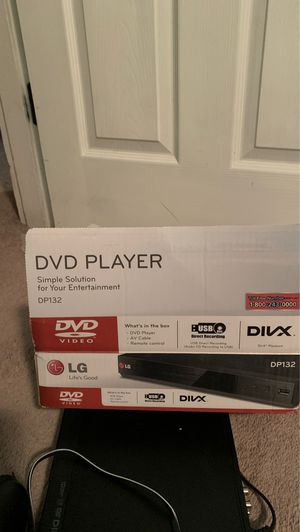 DVD Player DP132 and remote. for Sale in Cincinnati, OH