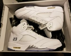 Air Jordan Retro 5 'White Metallic' (2015) for Sale in Fort Lauderdale, FL