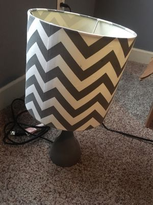 Desktop lamp with shade for Sale in Benton, AR