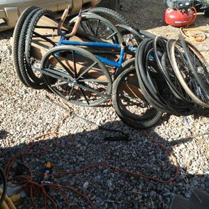 Bike Rims Frames Tires And Trailer for Sale in Phoenix, AZ
