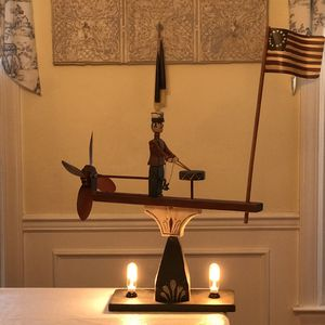 Folk Art Lamp for Sale in West Chester, PA