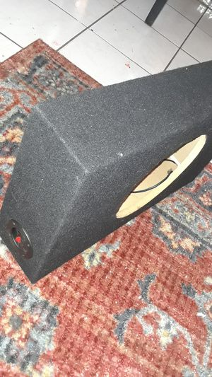 "10"" subwoofer box for Sale in San Francisco, CA"