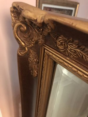 Large Antique mirror 33in /45in for Sale in Adelphi, MD