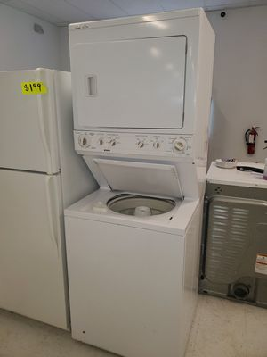 🔥🔥Kenmore and GE washer and electric dryer stackable in excellent condition 90 days warranty 🔥🔥 for Sale in Washington, DC