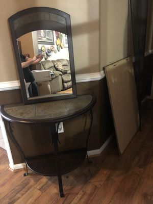 Table +mirror for Sale in Manassas, VA