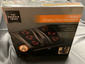 Sharper Image Deep Kneading Shiatsu Foot Massager for Sale in Westampton, NJ