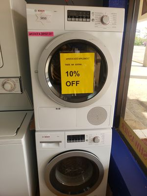 "Washer and dryer secadora y lavadora stackable 24"" for Sale in Woodbridge, VA"