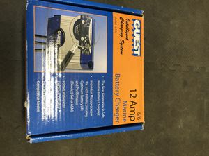 Guest Marine battery charger Model 16102 for Sale in Woodinville, WA