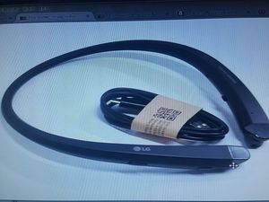 LG TONE BLACK HBS 910 BLUETOOTH HEADSET HARMAN KARDON SOUND for Sale in Chula Vista, CA