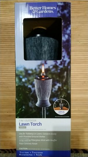 Better Homes & Gardens 3 in 1 outdoors Lawn Torch for Sale in Bowie, MD