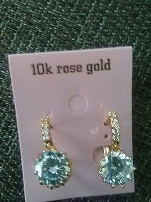 Beautiful Earrings with diamonds for Sale in Henderson, NV