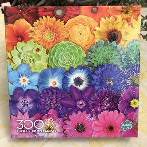 NEW!!! 300 Large Piece Puzzle VIBRANT COLOR BLOOMS for Sale in Torrance, CA