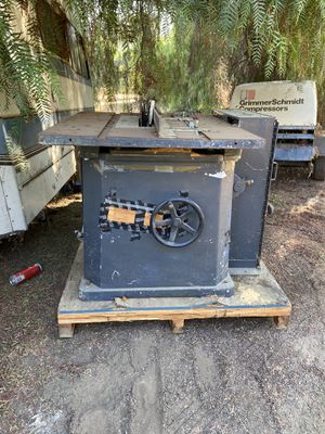 Industrial Table Saw Phase 3 20 Horsepower for Sale in Lakeside, CA