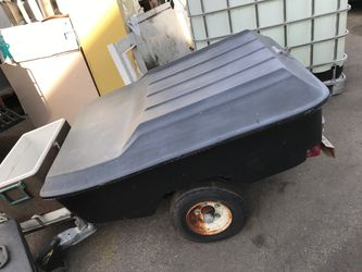 Motorcycle boxed trailer- no tittle-make offer. for Sale in Anaheim,  CA