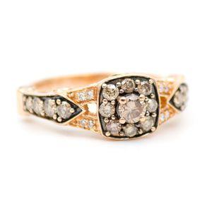 14K Rose Gold LeVian Engagement Ring for Sale in Atlanta, GA
