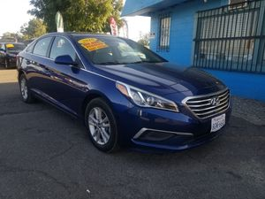2016 HYUNDAI SONATA SE AUTOMATIC TRANSMISSION. ZERO TO LOW DOWNPAYMENT ON APPROVED CREDIT for Sale in Modesto, CA