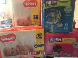 Pampers & wipes for Sale in Tallahassee, FL