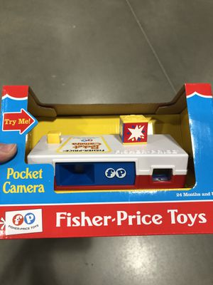 Fischer price pocket camera vintage toy new for Sale in Jefferson City, MO
