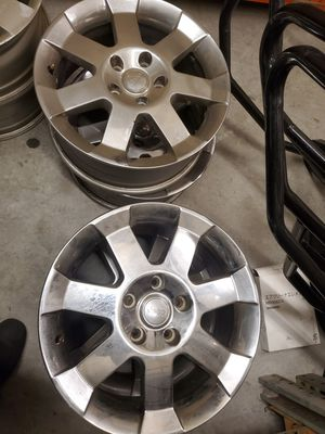 Full set Jeep Chrome rims for Sale in Matthews, NC