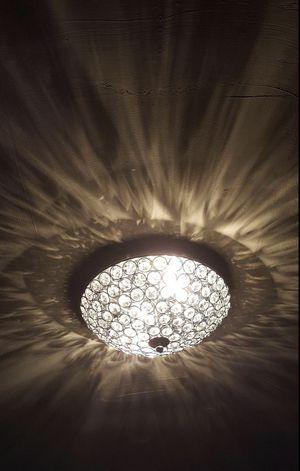 NEW MINI 2 Light Modern Crystal Chandelier Flush Ceiling Light Bedroom Hallway Bathroom Home Decor for Sale in Beverly Hills, CA