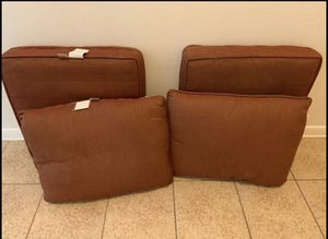 Outside patio furniture cushions for Sale in Magnolia, TX