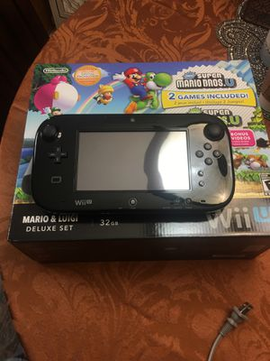 Wii u Deluxe Set for Sale in Pasadena, TX