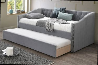 Day Bed w/ Slats + Trundle F9456 for Sale in Ontario,  CA