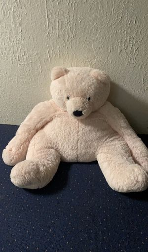 Pink oversized teddy bear for Sale in Grosse Pointe Shores, MI
